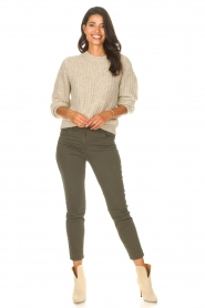 Set |  Knitted sweater Bella | natural   | Picture 3