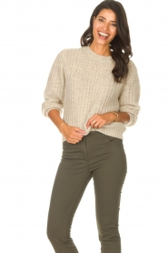 Set |  Knitted sweater Bella | natural   | Picture 2