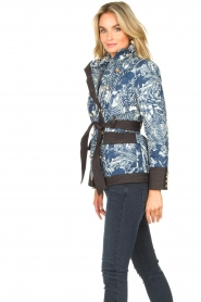 Silvian Heach |  Kimono jacket with golden marine buttons Gulch | blue  | Picture 6