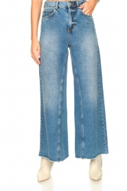 Silvian Heach |  Palazzo jeans Dubasso | blue  | Picture 5