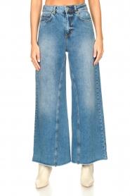 Silvian Heach |  Palazzo jeans Dubasso | blue  | Picture 4