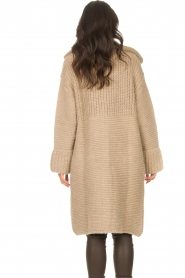 Set |  Long knitted cardigan Bloom | taupe  | Picture 7