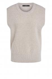 Set |  Sleeveless sweater Deya | beige   | Picture 1