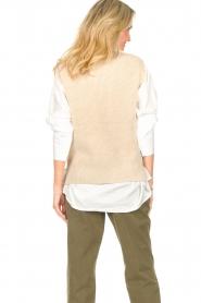 Set |  Sleeveless sweater Deya | beige   | Picture 7