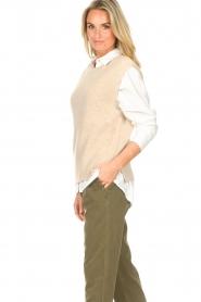 Set |  Sleeveless sweater Deya | beige   | Picture 6