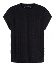 Set |  Knitted sweater Senna | black  | Picture 1