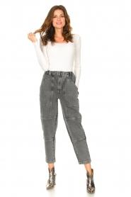 Set |  Boyfriend jeans Lola | grey  | Picture 3