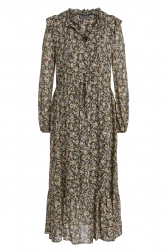 Set |  Maxi dress with print Bo | green  | Picture 1