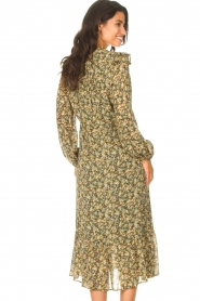 Set |  Maxi dress with print Bo | green  | Picture 6