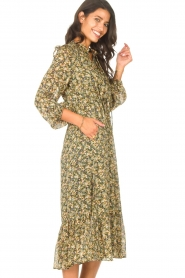 Set |  Maxi dress with print Bo | green  | Picture 5