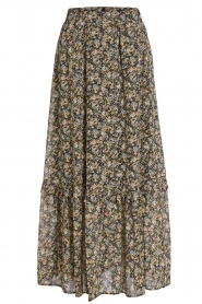 Set |  Maxi skirt with print Yana | green  | Picture 1
