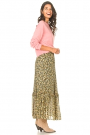 Set |  Maxi skirt with print Yana | green  | Picture 5