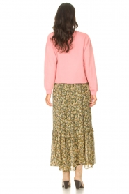 Set |  Maxi skirt with print Yana | green  | Picture 6