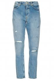 Silvian Heach |  High waist jeans Elbertir | blue  | Picture 1