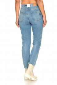 Silvian Heach |  High waist jeans Elbertir | blue  | Picture 8