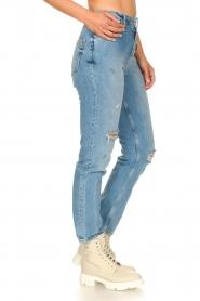 Silvian Heach |  High waist jeans Elbertir | blue  | Picture 7
