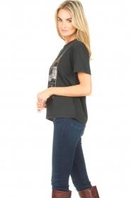 Set | T-shirt met opdruk Faya | zwart  | Afbeelding 5