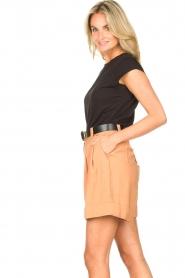 Silvian Heach |  Short with belt Pensipa | brown  | Picture 6