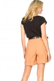 Silvian Heach |  Short with belt Pensipa | brown  | Picture 7