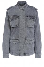 Set |  Utility jacket Maan | grey  | Picture 1