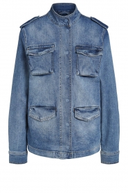 Set |  Utility jacket Maan | blue  | Picture 1