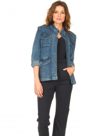 Set |  Utility jacket Maan | blue  | Picture 2