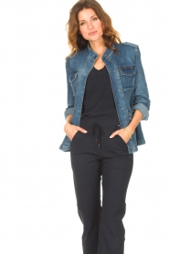 Set |  Utility jacket Maan | blue  | Picture 4