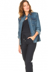Set |  Utility jacket Maan | blue  | Picture 5