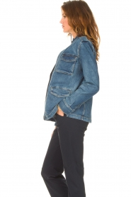 Set |  Utility jacket Maan | blue  | Picture 6