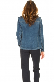 Set |  Utility jacket Maan | blue  | Picture 7
