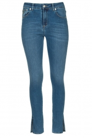 Lois Jeans |  L34 high waist skinny with split Celia | blue  | Picture 1