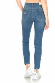Lois Jeans |  L34 high waist skinny with split Celia | blue  | Picture 8