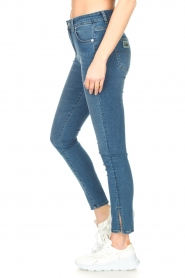 Lois Jeans |  L34 high waist skinny with split Celia | blue  | Picture 6