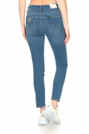 Lois Jeans |  L34 high waist skinny with split Celia | blue  | Picture 7