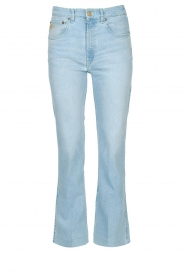 Lois Jeans |  High waisted straight leg jeans River | blue  | Picture 1