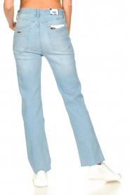 Lois Jeans :  High waisted straight leg jeans River | blue - img7