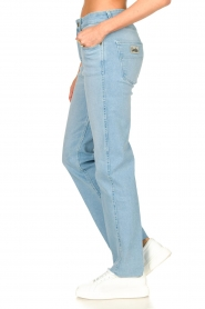 Lois Jeans :  High waisted straight leg jeans River | blue - img6