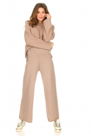 Set |  Knitted sweater Julia | brown  | Picture 4