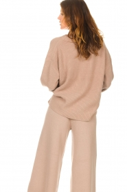 Set |  Knitted sweater Julia | brown  | Picture 8
