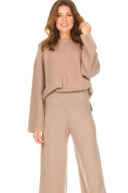 Set |  Knitted sweater Julia | brown  | Picture 6
