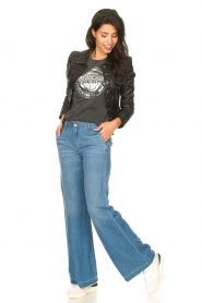 Lois Jeans |  Wide leg jeans L32 New Sia | blue  | Picture 2