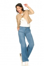 Lois Jeans |  Wide leg jeans L32 New Sia | blue  | Picture 3