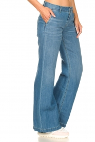 Lois Jeans |  Wide leg jeans L32 New Sia | blue  | Picture 5