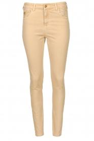 Lois Jeans |  L34 high waist skinny jeans Celia | beige  | Picture 1