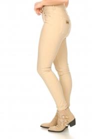 Lois Jeans |  L34 high waist skinny jeans Celia | beige  | Picture 6