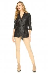 Lois Jeans |  L34 high waist skinny jeans Celia | beige  | Picture 2