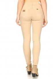 Lois Jeans |  L34 high waist skinny jeans Celia | beige  | Picture 7