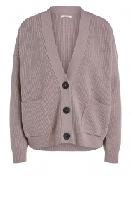 Set    Knitted cardigan Mella   brown    Picture 1
