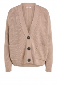 Set |  Knitted cardigan Mella | brown  | Picture 1