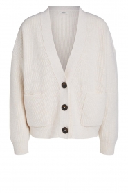 Set |  Knitted cardigan Mella | beige  | Picture 1